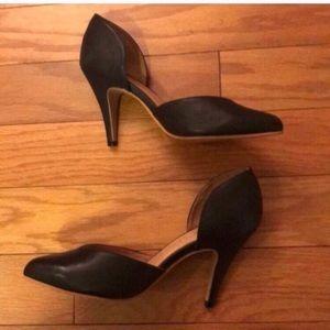 LIKE NEW Jeffrey Campbell Black Heels